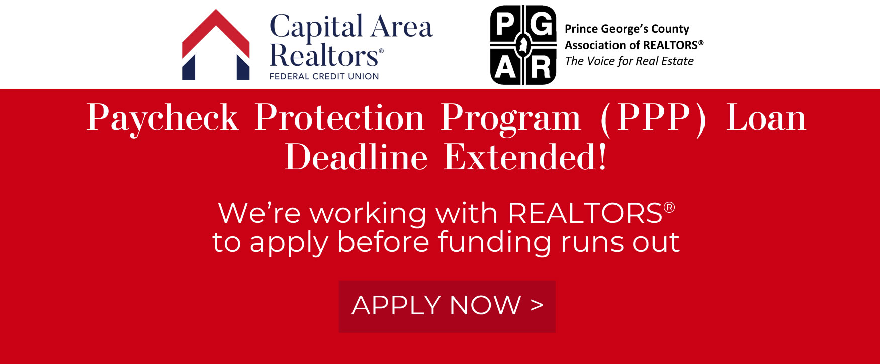 Apply today to gain PPP funding