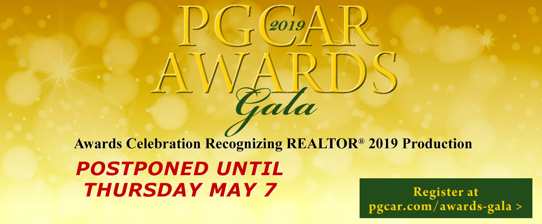 Celebrate at the 2019 Awards Gala