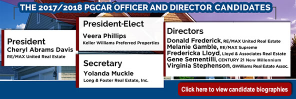 2017/2018 PGCAR Office and Director Candidates