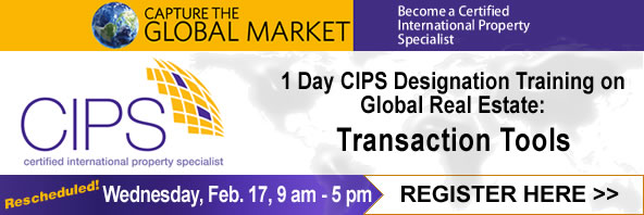 CIPS - Global Real Estate: Transaction Tools