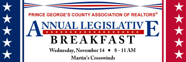 2017 PGCAR Legislative Breakfast