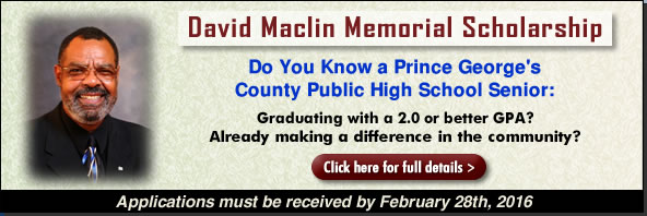 David Maclin Memorial Scholarship