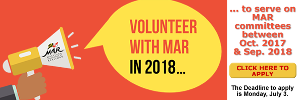 MAR Call for Volunteers!