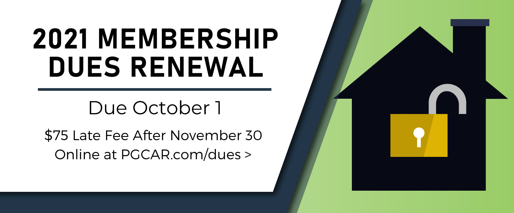 Renew your PGCAR membership online