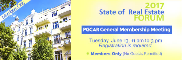 PGCAR General Membership Meeting - June 13