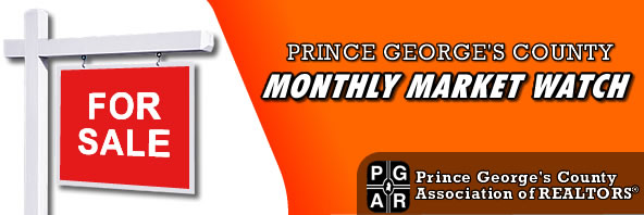 Prince George's Maryland Monthly Home Sales Stats and Market Watch
