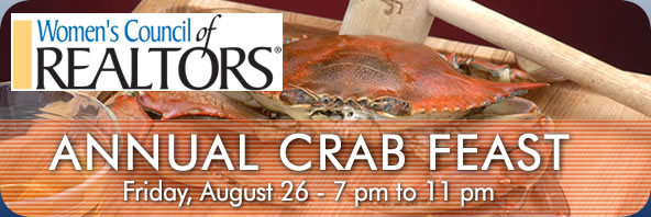 WCR Crab Feast is Friday, August 26. Click here to register by August 12