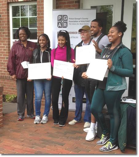4 Prince George's High School Seniors win 2017 David Maclin Memorial Scholarship Funds
