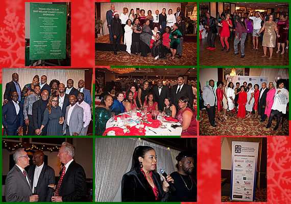 Photo Collage from the PGCAR Annual Holiday Charity Event