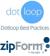 free training webinars on dotloop Best Practices and ZipForms