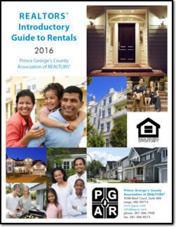 2016 update to Prince George's County REALTORS Guide to Property Management and Rentals