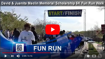 David & Juanita Maclin Memorial Scholarship 5K Fun Run Walk - April 21, 2018