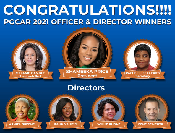 2021 Officer and Director election winners