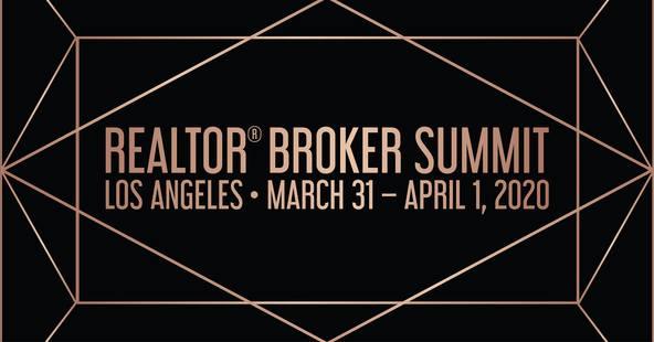 REALTOR Broker Summit March 31 - April 1 in Hollywood California