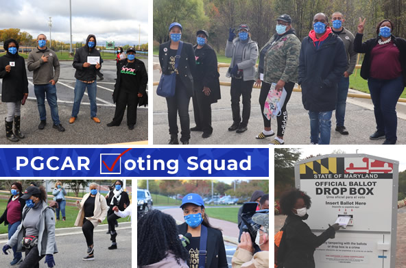 PGCAR Early Voting Squad Photos