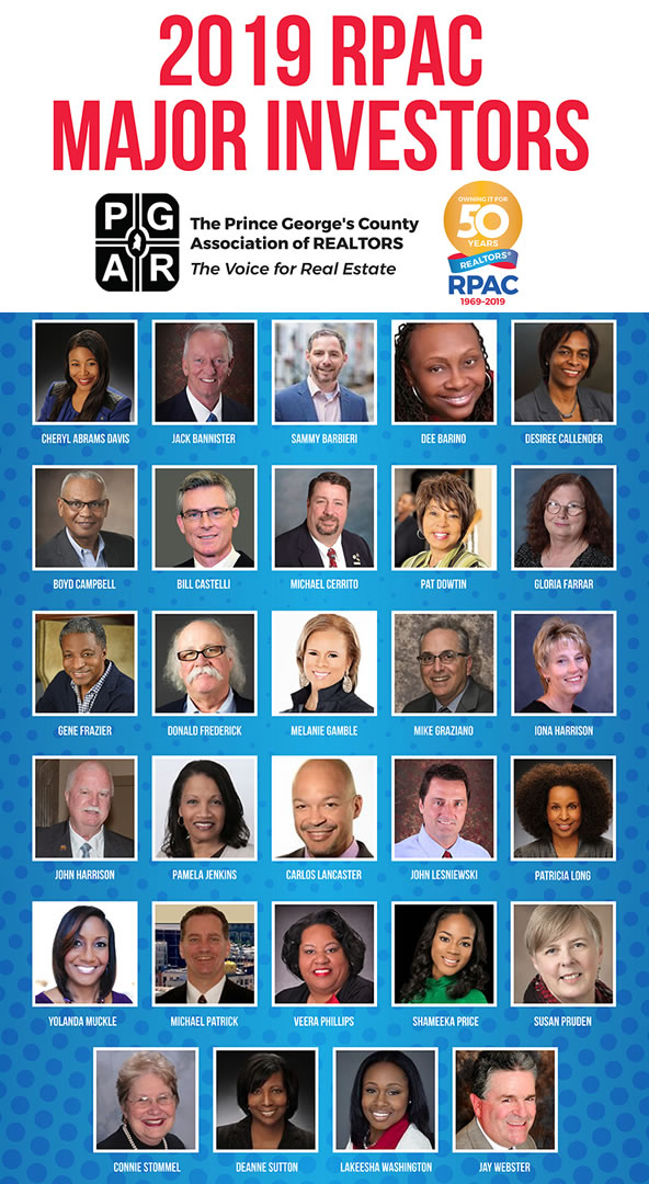 Thank you to our Major RPAC Contributors