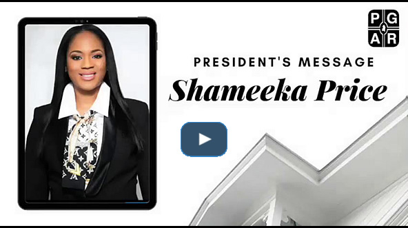 Message from PGCAR President Shameeka Price