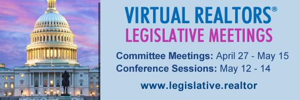 NAR Annual Legislative Meetings being held virtually