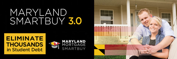 Maryland Homebuyers can eliminate up to $30,000 in Student Debt with Maryland SmartBuy 3.0