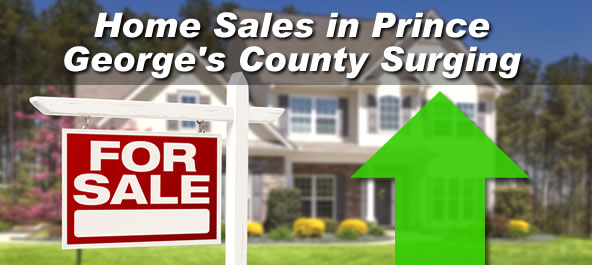 Home Sales in Prince George's County Surging