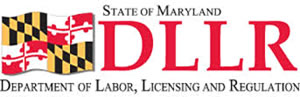 Maryland Department of Labor, Licensing and Regulation (DLLR) logo