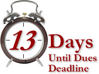 Annual Membership Renewal Countdown
