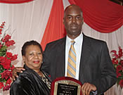 Linda Simpson and Gregory Bennett (Hall of Fame)