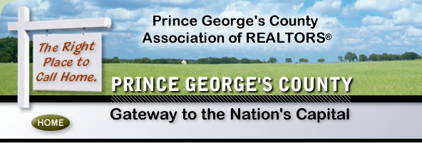 Prince George's County Association of REALTORS website home page