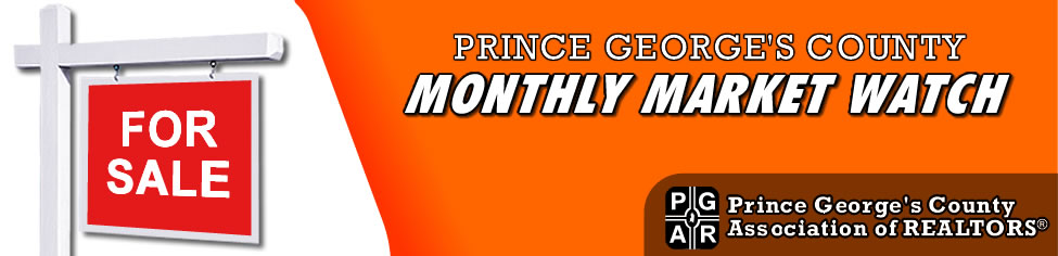 Prince George's Maryland Monthly Market Watch